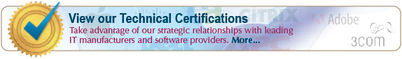 MoreDirect technical certifications