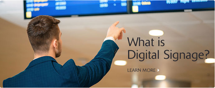 Connection Services - Digital Signage Solutions